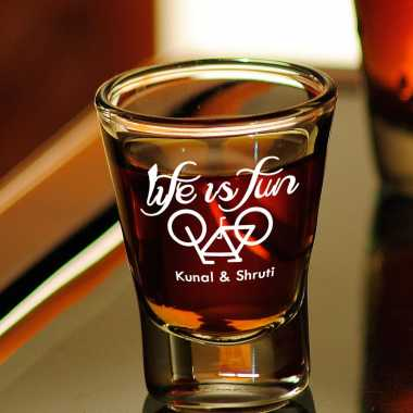 Elegant Shot Glass For Couples