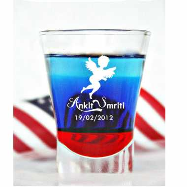 Customized Shot Glass For Husband