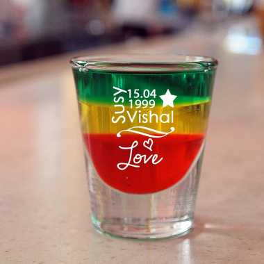 Creative Cocktail Shot Glass For Fiance