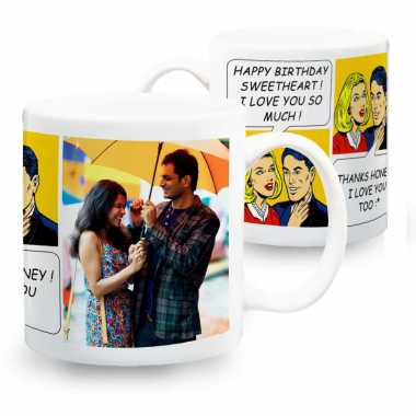 Pop Art Personalized Mugs