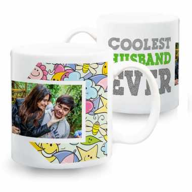 Cool Hubby Personalized Mug