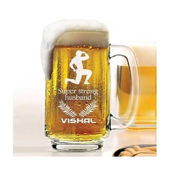 Super Strong Husband - Beer Mug