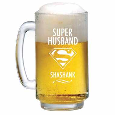 Superman Styled Beer Mug