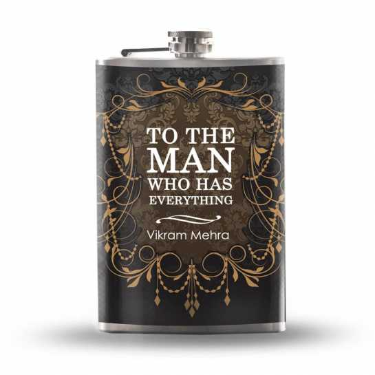 hip flask gift for husband
