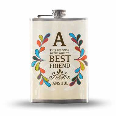 Personalized Hip Flask for Friend