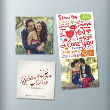 Valentine_s Day Photo Magnet