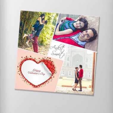 Valentine Photo Magnet