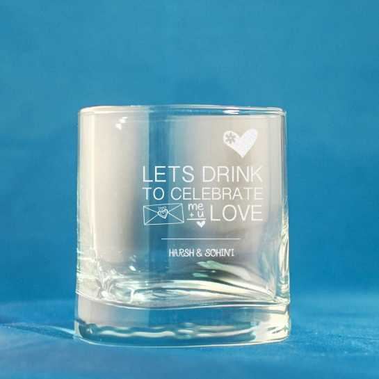 Stylish Whisky Glass- set of 2
