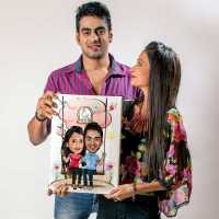 Caricature Canvas - Play Couple