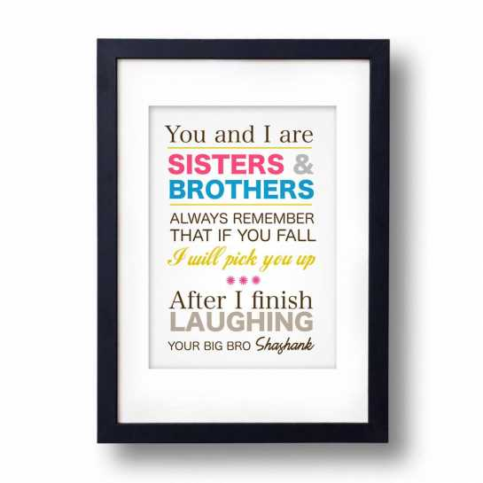 Sisters And Brothers-Frame