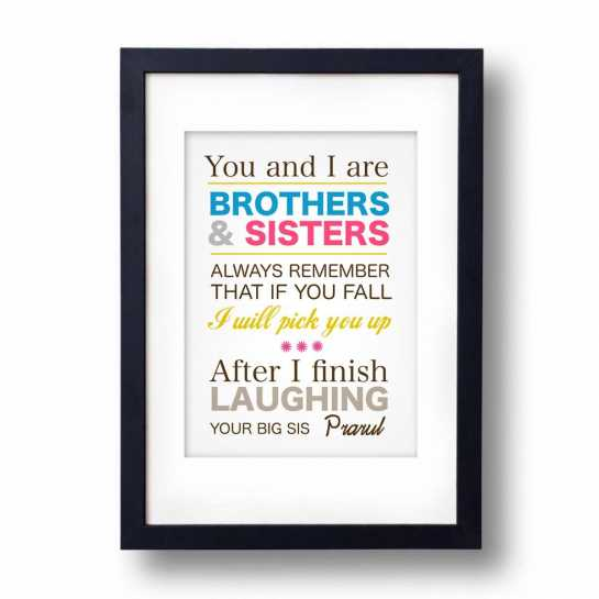 Brothers And Sisters-Frame