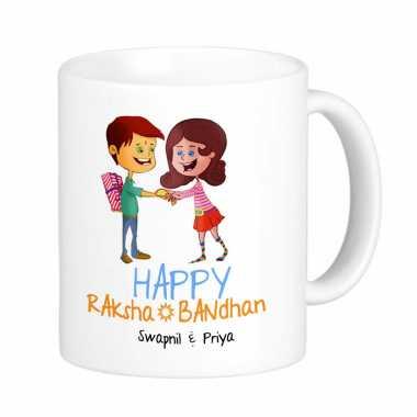 Raksha Bandhan Personalized Mugs