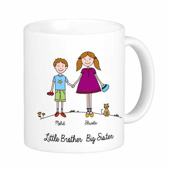 Personalized Coffee Mug for Brother