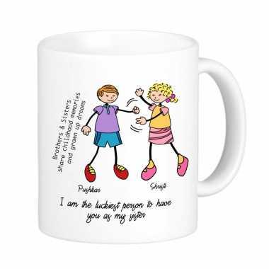 Sibling Love Personalized Mug