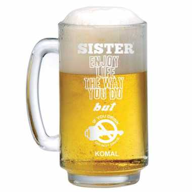 Beer Mug with Social Message