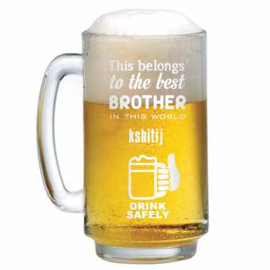 Beer Mug for Best Brother