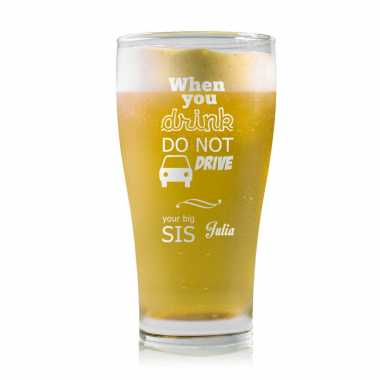 Donot Drink and Drive Beer Mug