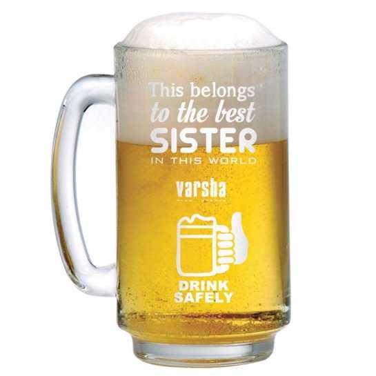 Best Sister - Beer Mug