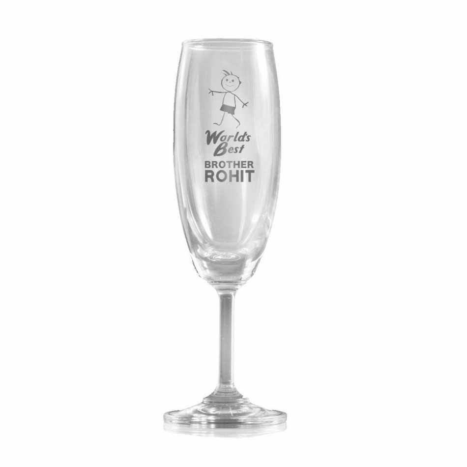 Buy champagne glass for brother online for Buy champagne glasses online