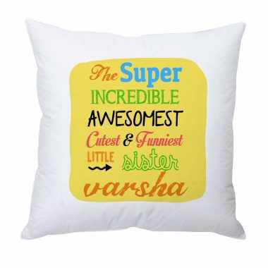 Custom Cushion for Best Sister