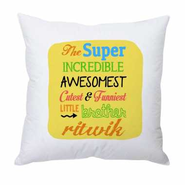 Personalized Cushion for Brother