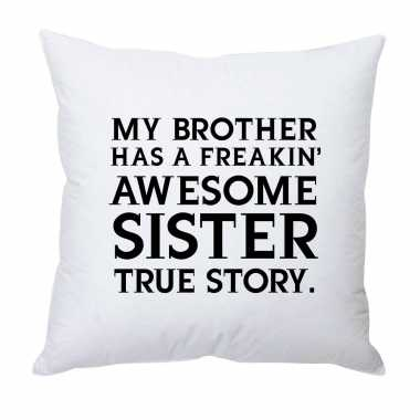 Awesome Sister Custom Cushion