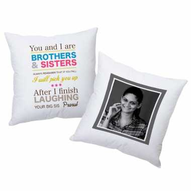 Pair Custom Cushions for Siblings