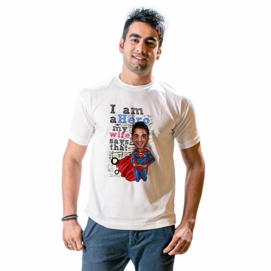 Design your own t shirt bangalore - This Unique Product In Itself Is Set To Turn Heads As When Things Are Personalized In A Caricature Way They Leave Their Own Mark