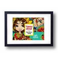 Creative Diwali Wall Decor Frame