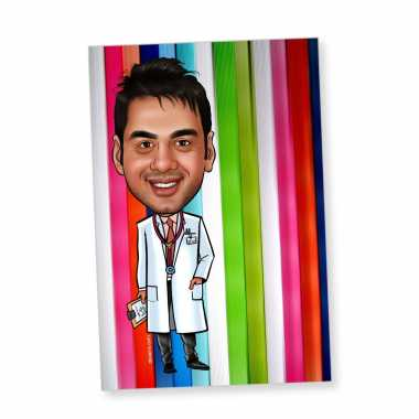 New Doctor Caricature Magnet