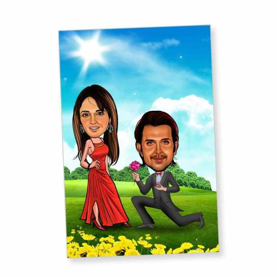 Proposal - Caricature magnet