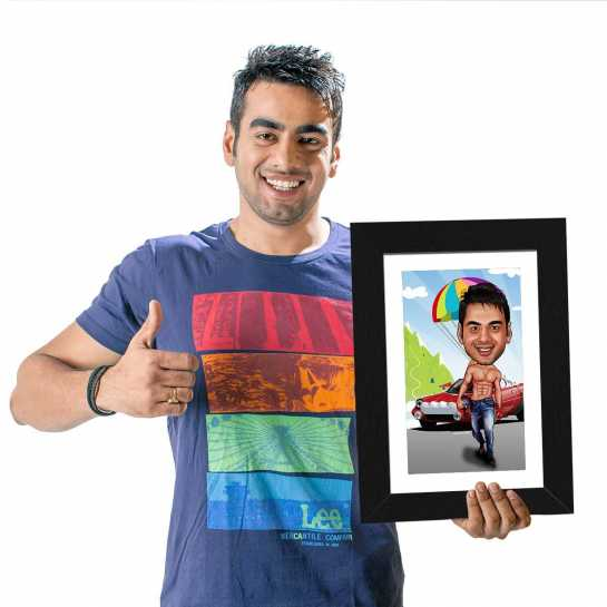 Actor - Caricature Photo Frame