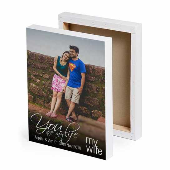 My Life - My Wife - Photo Canvas