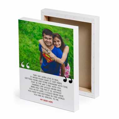 Memorable Moments Personalized Canvas