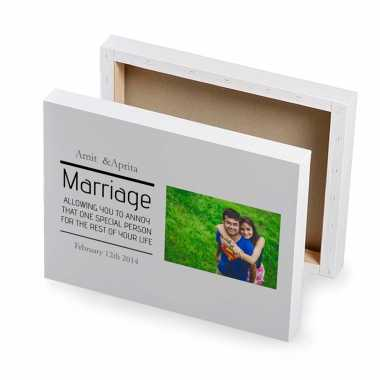 Special Couple Personalized Photo Canvas