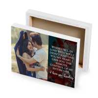 I Love You Darling - Photo Canvas