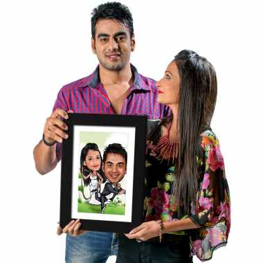 You Are Mine - Caricature Photo Frame