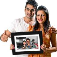 Wife Boss - Caricature Photo Frame