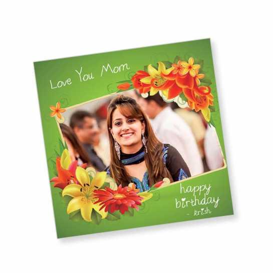 Birthday Magnet - Love You Mom