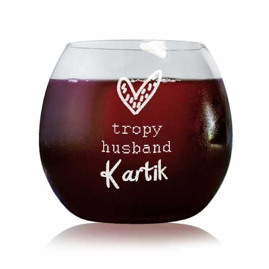 Trophy Husband - Stylish Wine Glasses
