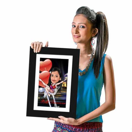 Still Famous - Caricature Photo Frame