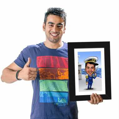 Sailor - Caricature Photo Frame