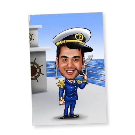 Sailor - Caricature Fridge Magnet