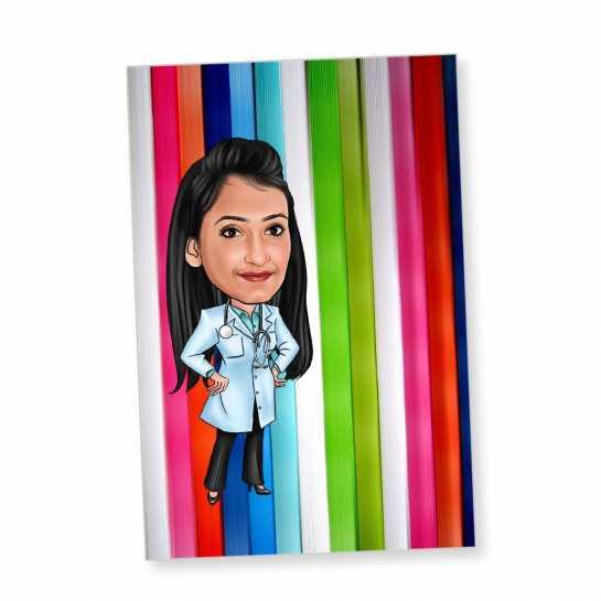 Doctor - Caricature Fridge Magnet