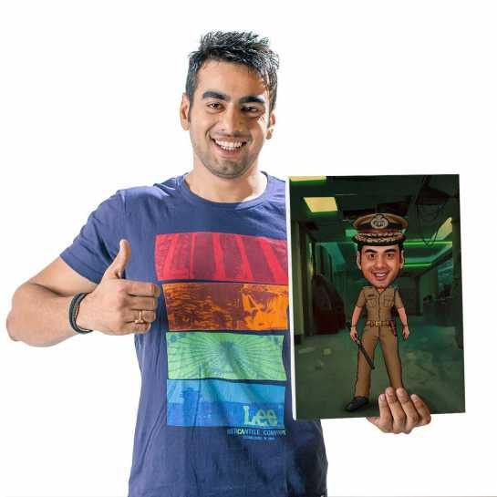 Dabang - Caricature Canvas