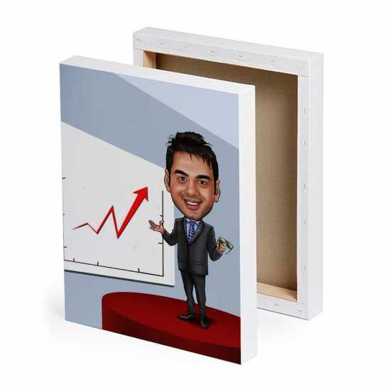 Manager - Presentation - Caricature Canvas
