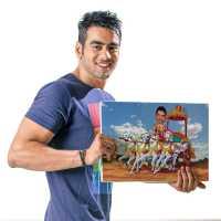 Mythological - Caricature Canvas