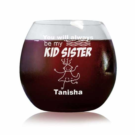 Kid Sister - Stylish Wine Glasses