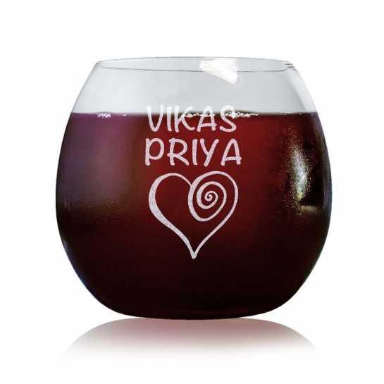 Spiral Love - Stylish Wine Glasses