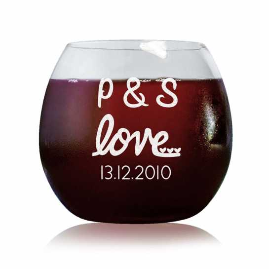 Sweet Love - Stylish Wine Glasses